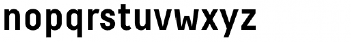 Decima Pro A Bold Font LOWERCASE