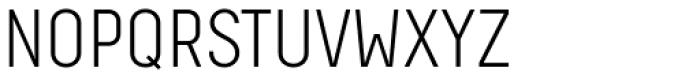 Decima Pro A Light Font UPPERCASE