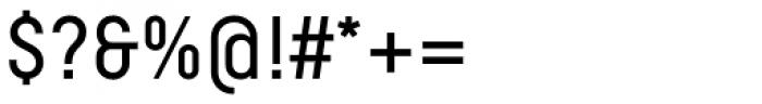Decima Pro A Font OTHER CHARS
