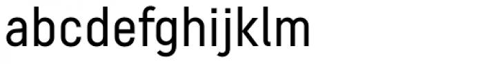 Decima Pro A Font LOWERCASE