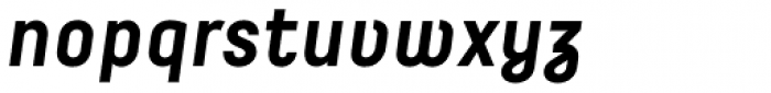 Decima Pro Bold Italic Font LOWERCASE