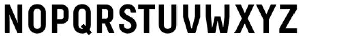 Decima Pro Bold Font UPPERCASE