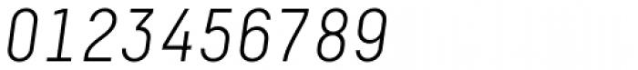 Decima Pro Light Italic Font OTHER CHARS