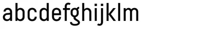 Decima Pro Font LOWERCASE