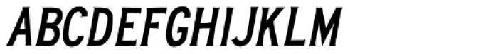 Deckhouse Slanted Font LOWERCASE