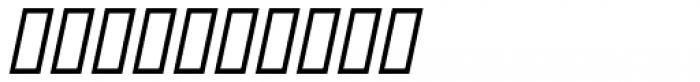 Deco Drop Caps Oblique JNL Font OTHER CHARS