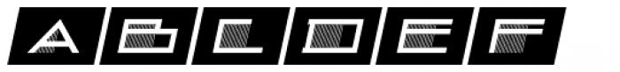 Deco Drop Caps Oblique JNL Font UPPERCASE