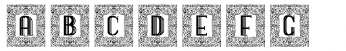 Deco Experiment 3 Decorative Font UPPERCASE