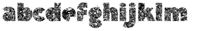 Deco Neue Wilde Font LOWERCASE