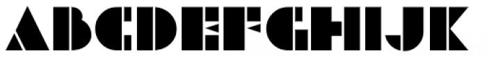 Deco Revisited JNL Regular Font UPPERCASE
