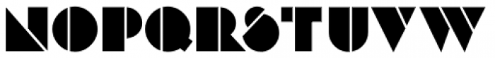 Deco Revisited JNL Regular Font LOWERCASE