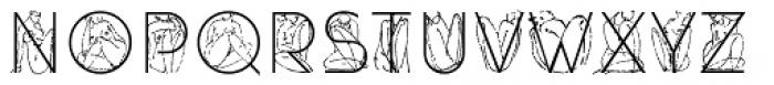 DecoAkt Light Font UPPERCASE