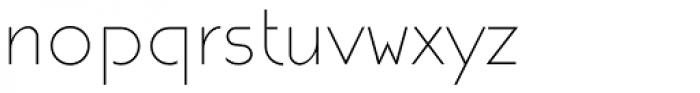 DecoAkt Light Font LOWERCASE