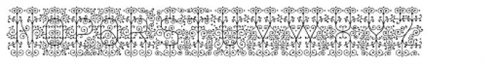 Decorata Intricate Font UPPERCASE