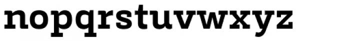 Decour Black Font LOWERCASE