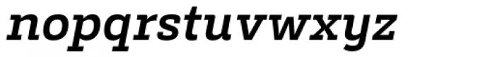 Decour Bold Italic Font LOWERCASE