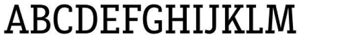 Decour Condensed Semibold Font UPPERCASE