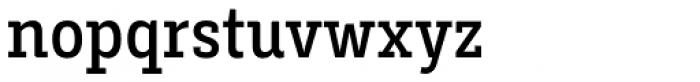 Decour Condensed Semibold Font LOWERCASE