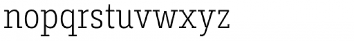 Decour Condensed Ultralight Font LOWERCASE