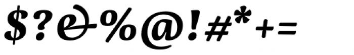 Dederon Bold Italic Font OTHER CHARS