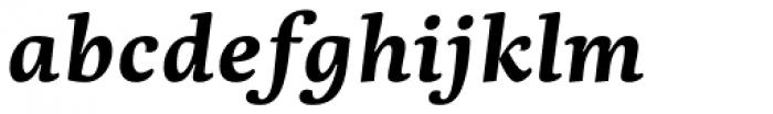 Dederon Bold Italic Font LOWERCASE