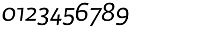 Dederon Sans Light Italic Font OTHER CHARS