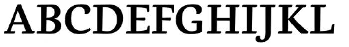 Dederon SemiBold Font UPPERCASE