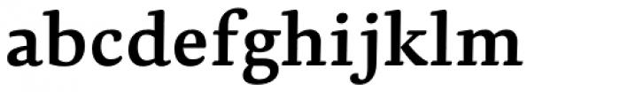 Dederon SemiBold Font LOWERCASE