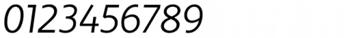 Dee Dee Light Italic Font OTHER CHARS
