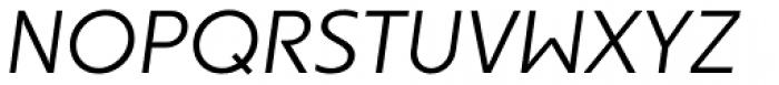 Dee Dee Light Italic Font UPPERCASE