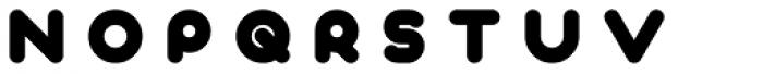 Deep Fried 3 Font UPPERCASE
