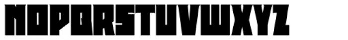 Deep Rising Font UPPERCASE