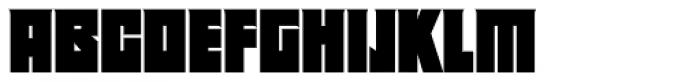Deep Rising Font LOWERCASE