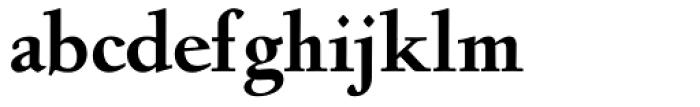 Deepdene BQ Bold Font LOWERCASE