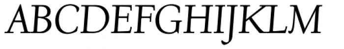 Deepdene BQ Italic Font UPPERCASE