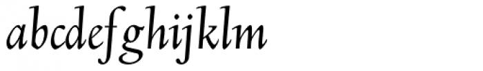 Deepdene BQ Italic Font LOWERCASE