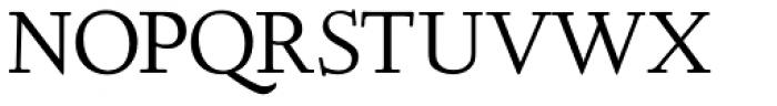Deepdene URW SC Roman Font UPPERCASE