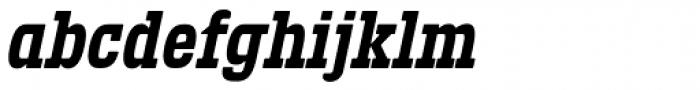 Defender 22 Bold Italic Font LOWERCASE