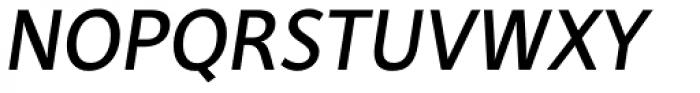 Deja Rip Medium Italic Font UPPERCASE