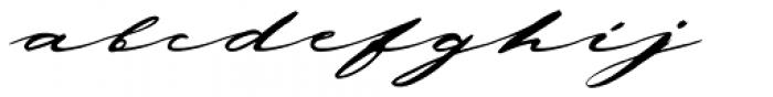 Deja Vu Clean Font LOWERCASE