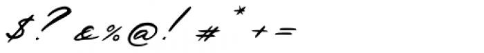Deja Vu Ink Font OTHER CHARS