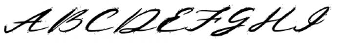 Deja Vu Ink Font UPPERCASE