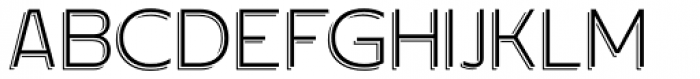 Dekalb Light Shade Font UPPERCASE