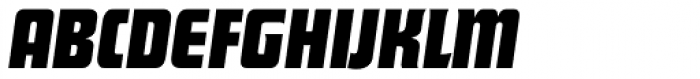 Deko Display Serial Bold Italic Font UPPERCASE