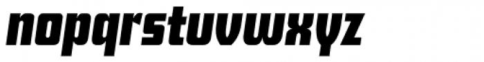Deko Display Serial Bold Italic Font LOWERCASE