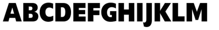 Delargo DT Condensed Black Font UPPERCASE