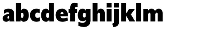 Delargo DT Condensed Black Font LOWERCASE