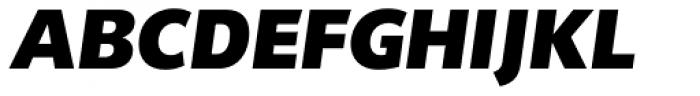 Delargo DT Informal Black Italic Font UPPERCASE