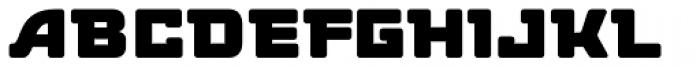 Deli Deluxe Std Font LOWERCASE