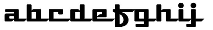 Deli Supreme Font LOWERCASE